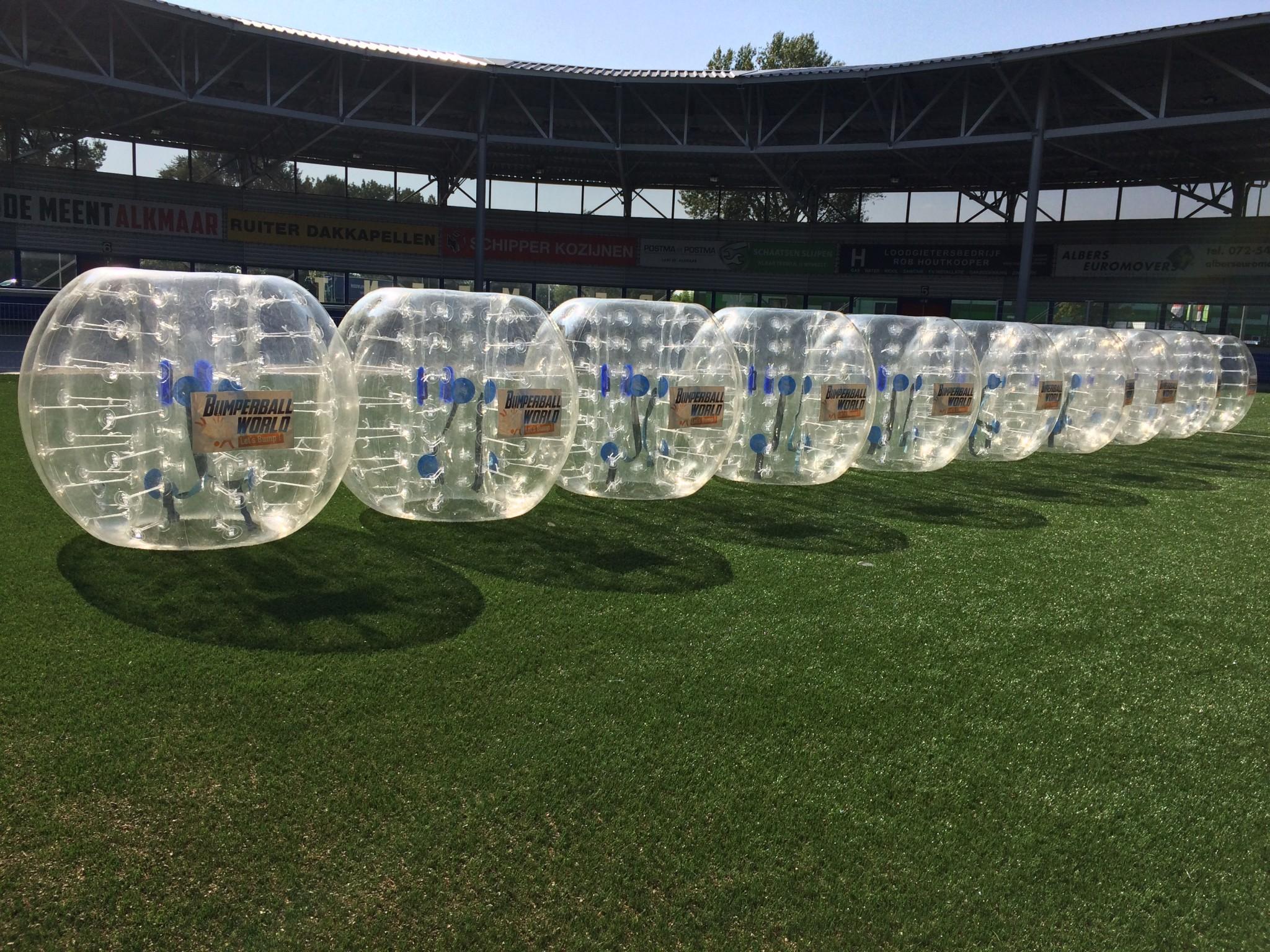 Bubbel voetbal provincie Groningen