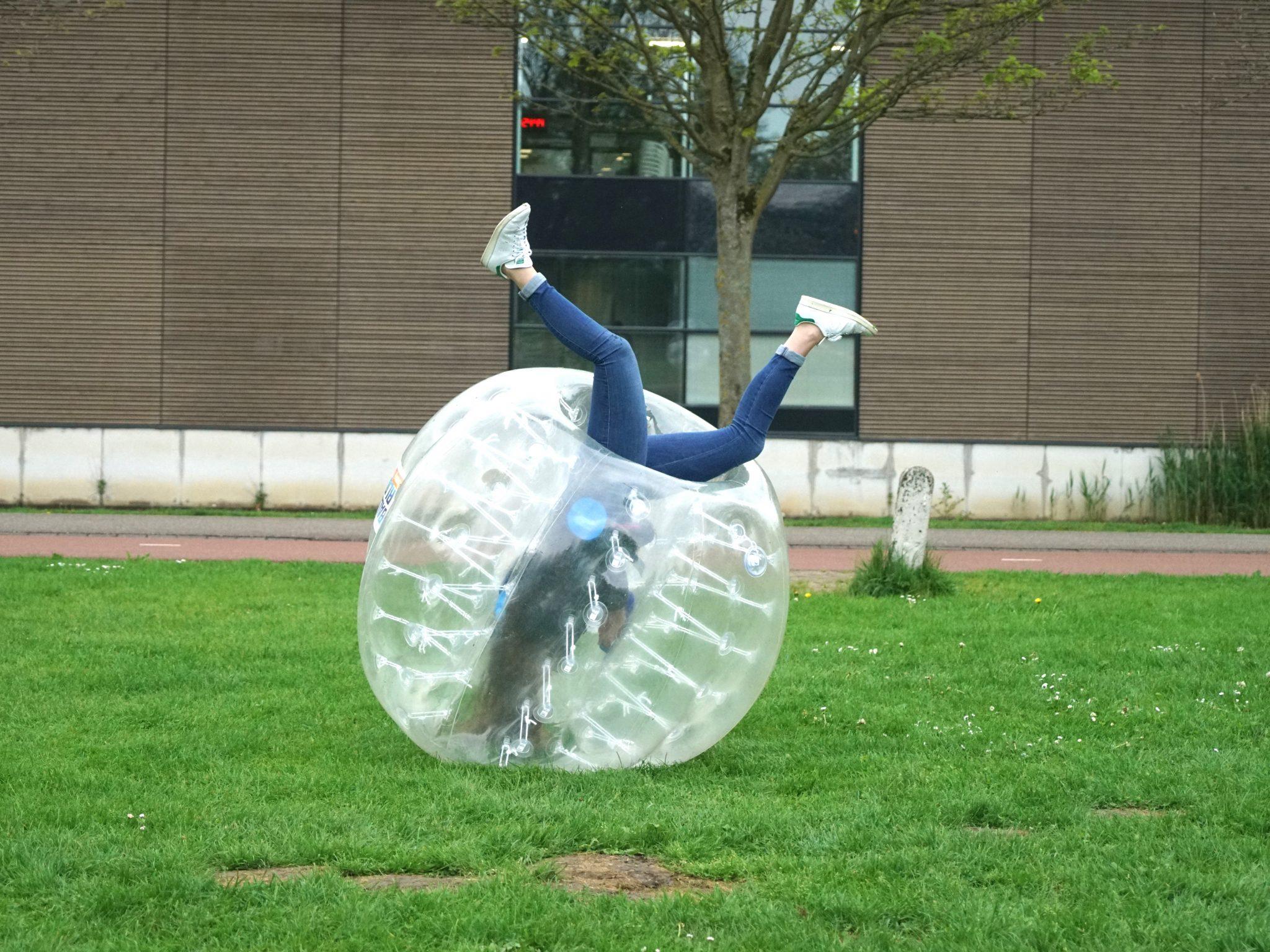 Bubbel voetbal Drenthe